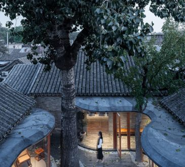 Qishe Courtyard House in Beijing by ARCHSTUDIO.