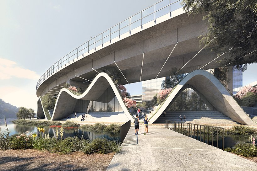 LMTLS proposes undulating structure to revitalize honggye stream in seoul, korea