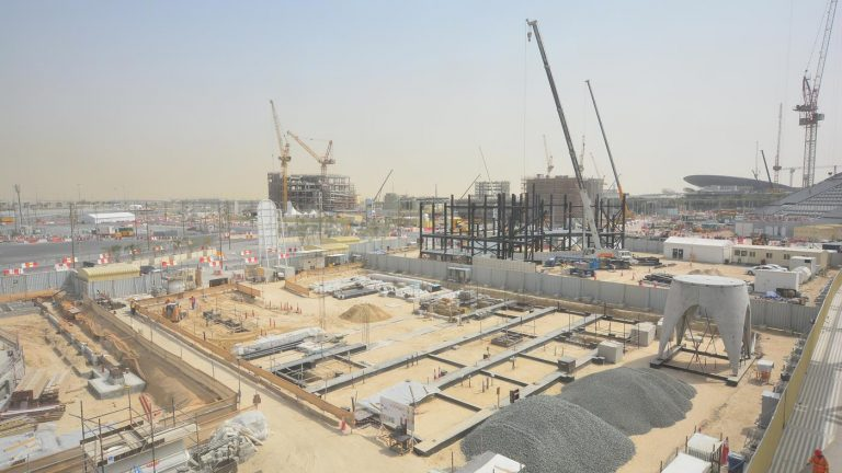 Austria completes stage one of expo pavilion