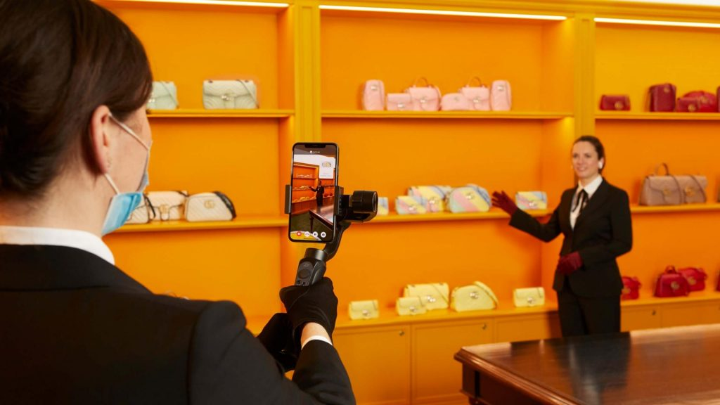 Could livestreaming impact the design of luxury retail spaces?