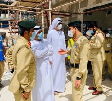 Dubai Police revealed cause of fire that broke out at Expo Dubai site in May