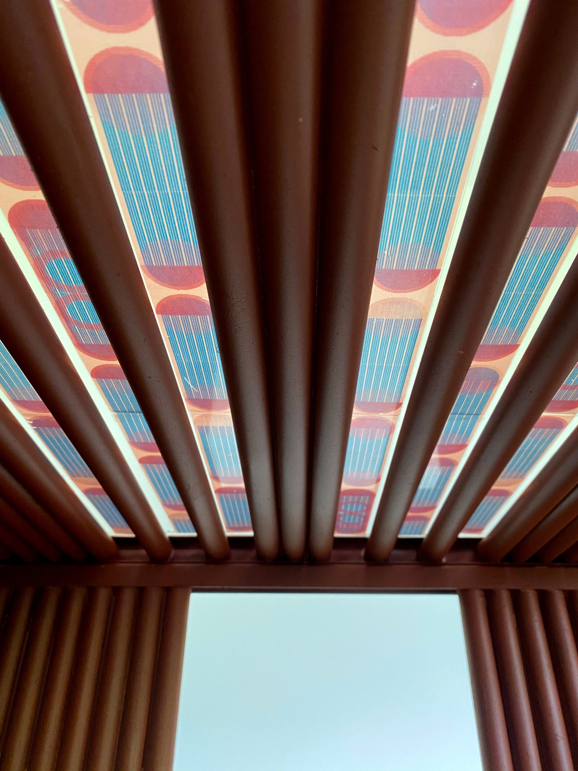 Colourful translucent solar panels by Marjan van Aubel will top Dutch pavilion at Dubai Expo