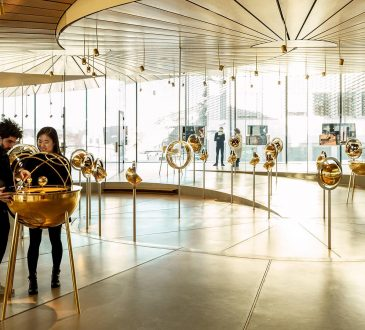 BIG and Atelier Brückner's new museum space for Audemars Piguet is a metaphor for time itself