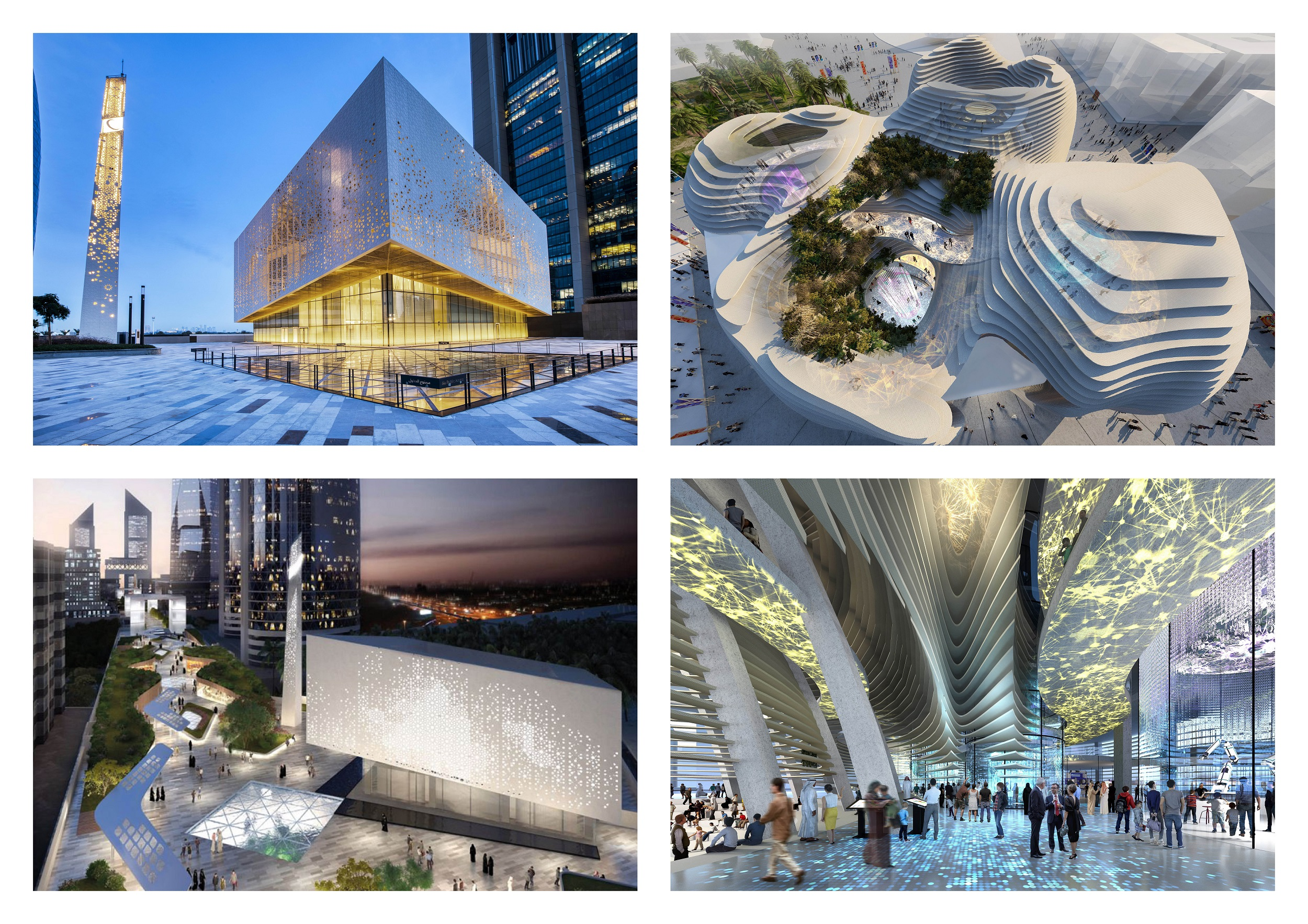 RMJM's Grand Mosque and KSA Pavilion Projects Shortlisted for d3 RIBA Gulf Architecture Festival 2020