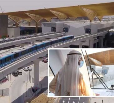 Dubai's most beautiful Metro station unveiled on Route 2020