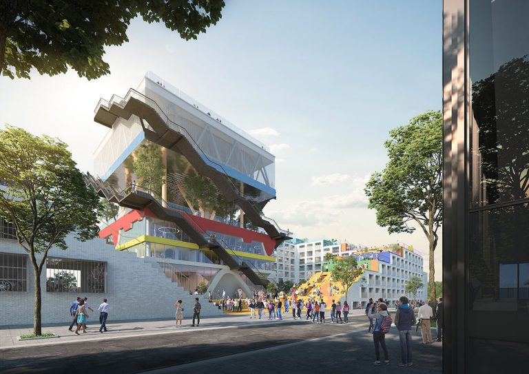 MVRDV to convert its former Expo 2000 Pavilion in Hannover into a co-working office building
