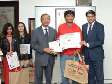 Young Mauritians of Expo 2020 Dubai drawing and painting contest rewarded