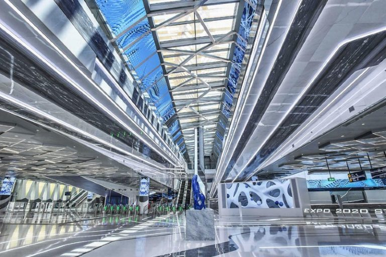 Watch: inside the state-of-the-art Expo 2020 metro station