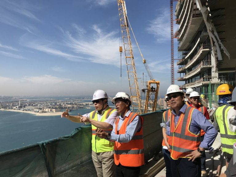 Ssangyong E&C chief travels to Dubai to oversee $1b hotel project