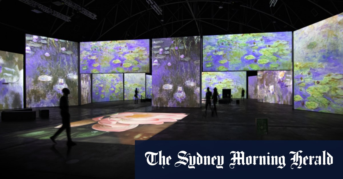 Show me the Monet: new digital exhibition brings French masters to Sydney