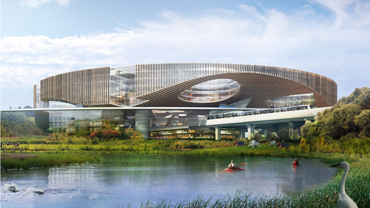 OMA Wins Competition to Design Chengdu's Future Science City
